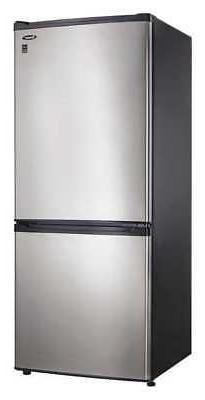 refrigerator bottom freezer 9 2 cu ft