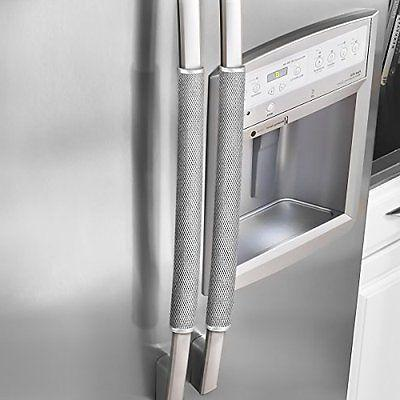 Ougar8 Refrigerator Door Handle Covers Protective Electrical Kitchen Appliances
