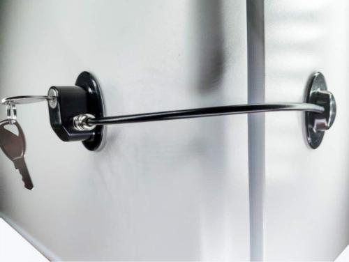 Refrigerator Door Lock with 2 Keys, File Drawer Lock, Freeze