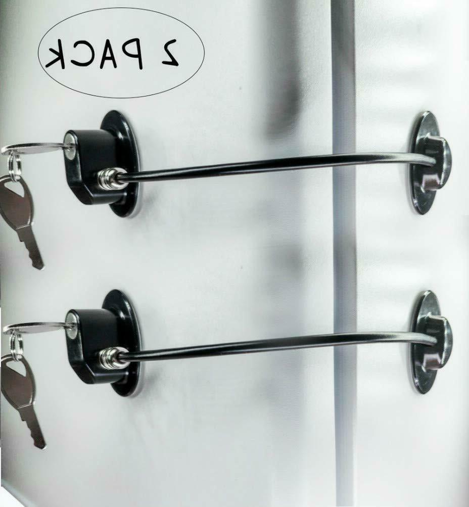 refrigerator door locks