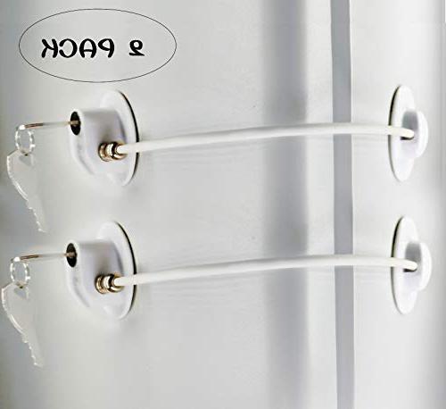 refrigerator door locks freezer