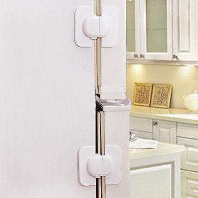 Refrigerator Fridge Door Lock Latch Toddler Child