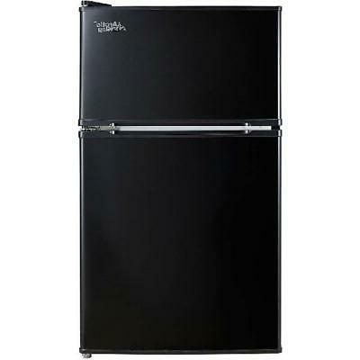 3.2 Ft Fridge Freezer 2-Door Refrigerator Dorm NEW!
