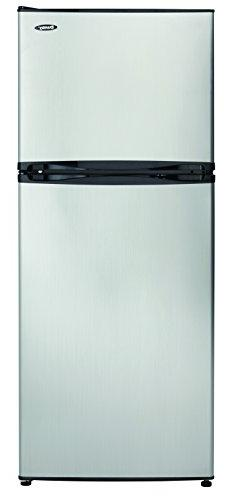 Danby 10.0 cu ft Refrigerator, Black/Spotless Steel