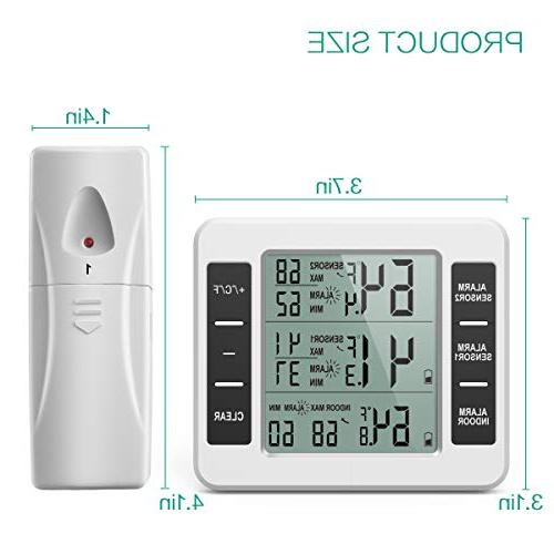 ORIA Digital 2 Alarm, Record, Display Home, Bars,