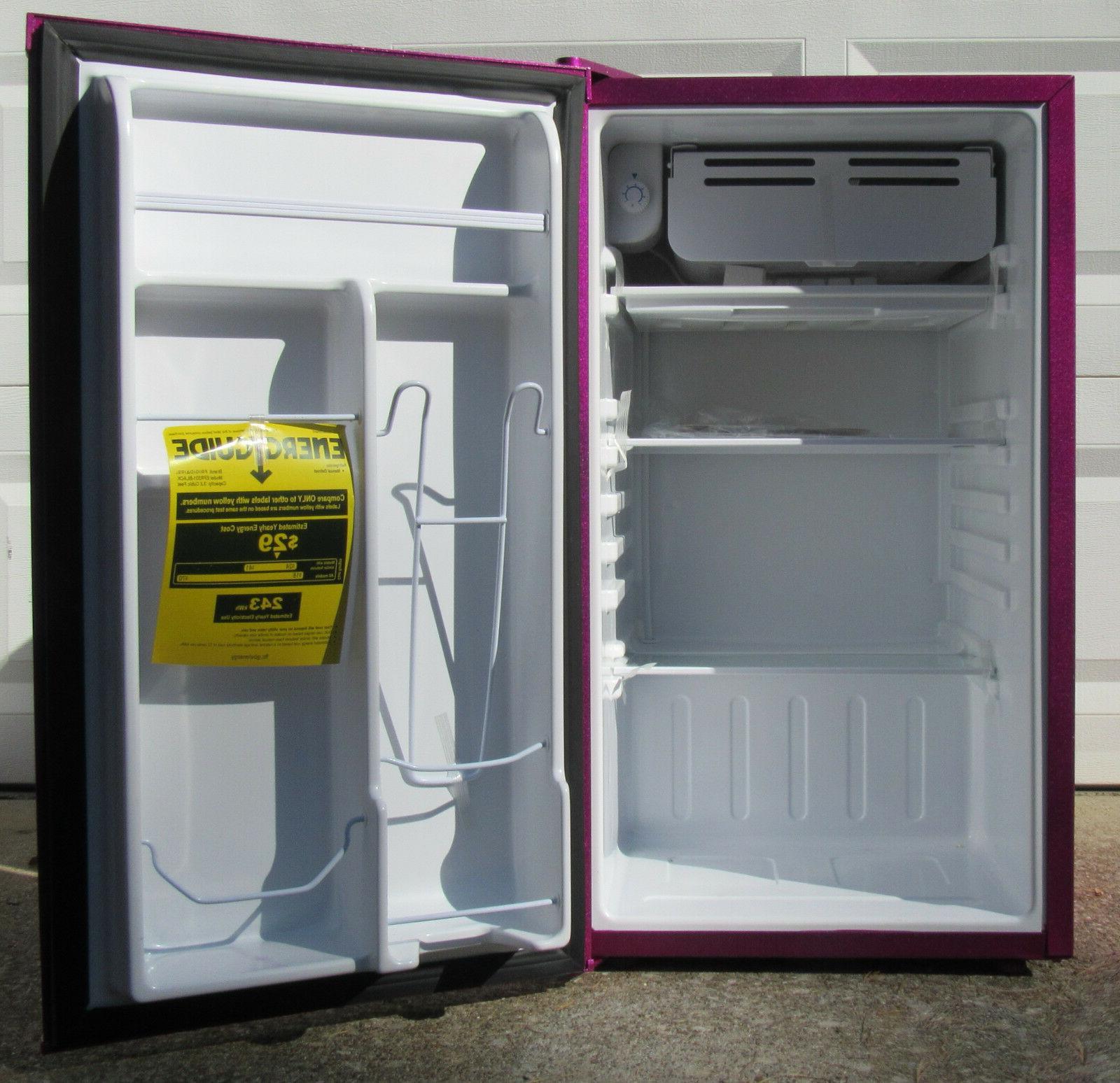 Retro Mini Fridge 3.2 Ft, Raspberry Ice KitchenAid