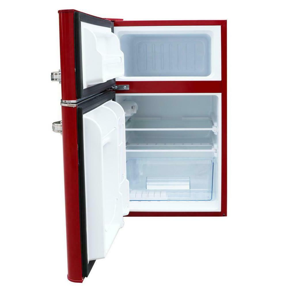Retro Mini Fridge Refrigerator cu 2-Door