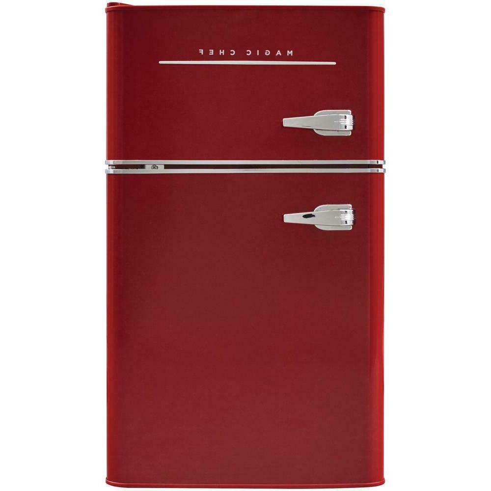 retro mini fridge freezer refrigerator 3 2