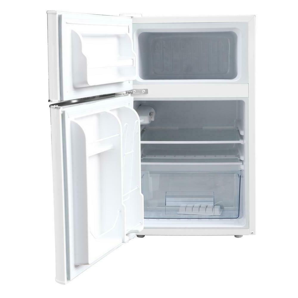 Retro Mini Fridge Refrigerator 3.2 cu 2-Door
