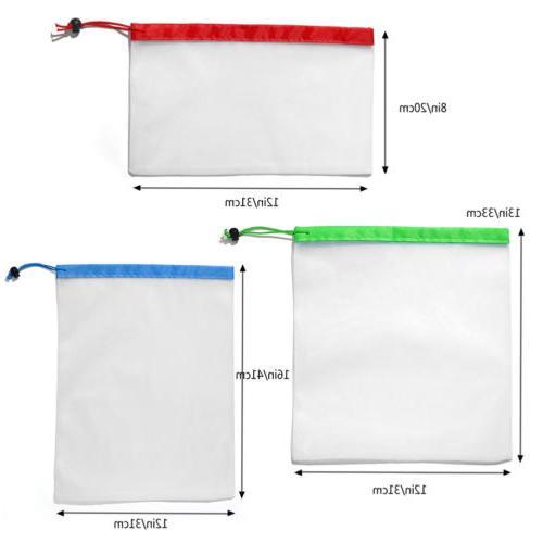 Reusable Storage Kitchen Ziplock Bags Net