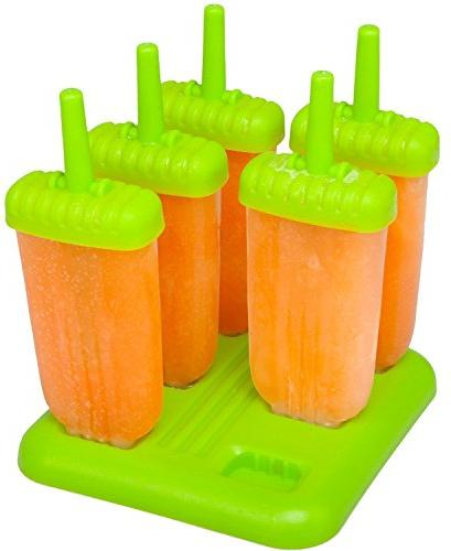 Newonder® Reusable Ice Pop Molds Maker,Bpa-free Popsicles with Ice Molds & Trays