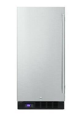 """Summit SCFF1533BSS Frost-Free Freezer - 15"""" Wide"""