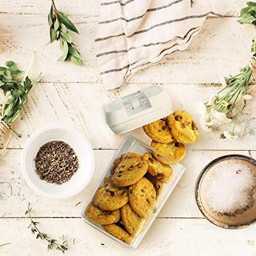 Balchy Piece Set Food - Airtight Leak Durable – BPA Free - Dishwasher - Keep Food with Lock