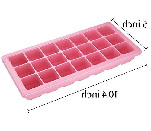 Korlon 3 Silicone Lid - Ice Cube - Silicone Cube Maker for Cocktail 21 Cubes with
