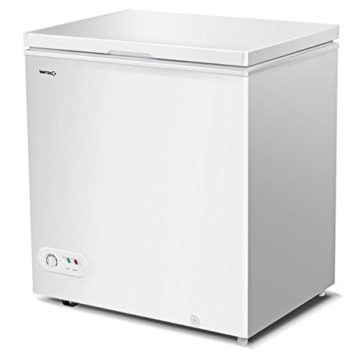 single door chest freezer compact