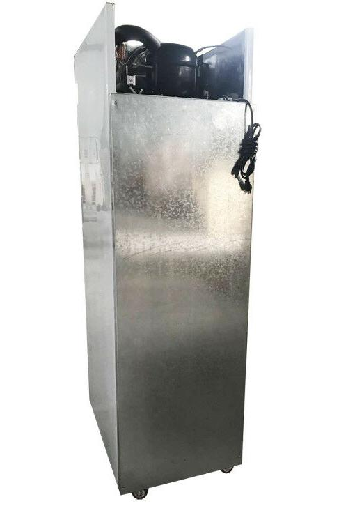 Single Stainless Commercial Freezer Pizza Freezer