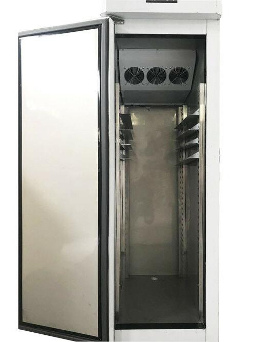 Single Door Stainless Steel Commercial Reach-in Freezer 110V Pizza New