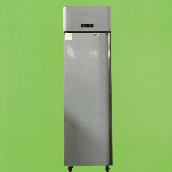 single door stainless steel commercial reach in