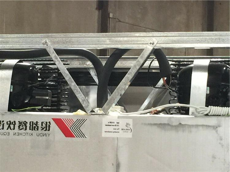 "New 6 Freezer x x 75"" Cooler Model"