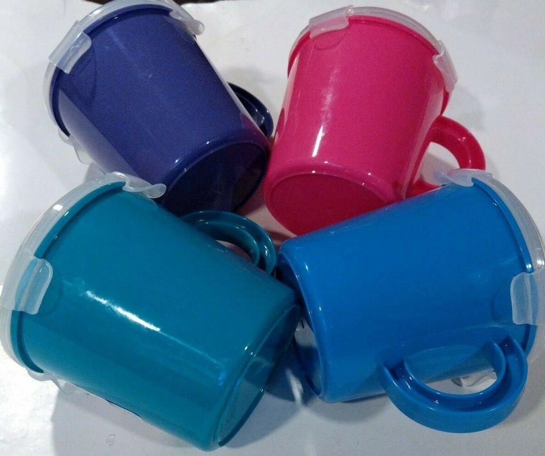 SUREFRESH SOUP MUG Clip Lock Closure & Vented Lid Microwave / Freezer New