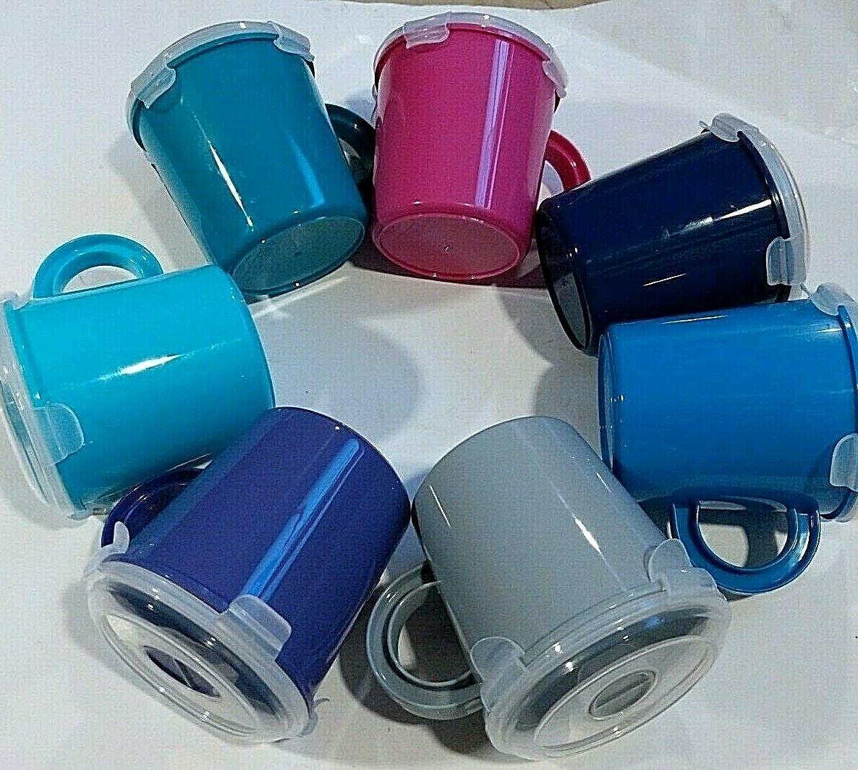 soup mug with clip lock closure