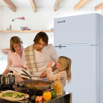 Stainless Refrigerator Freezer 3.2 cu ft. Unit