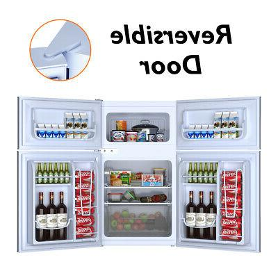 Stainless Steel Freezer Cooler Fridge Compact