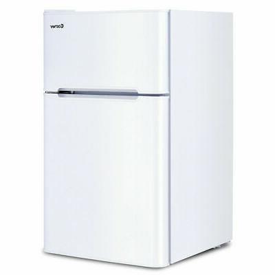 stainless steel refrigerator small freezer cooler fridge