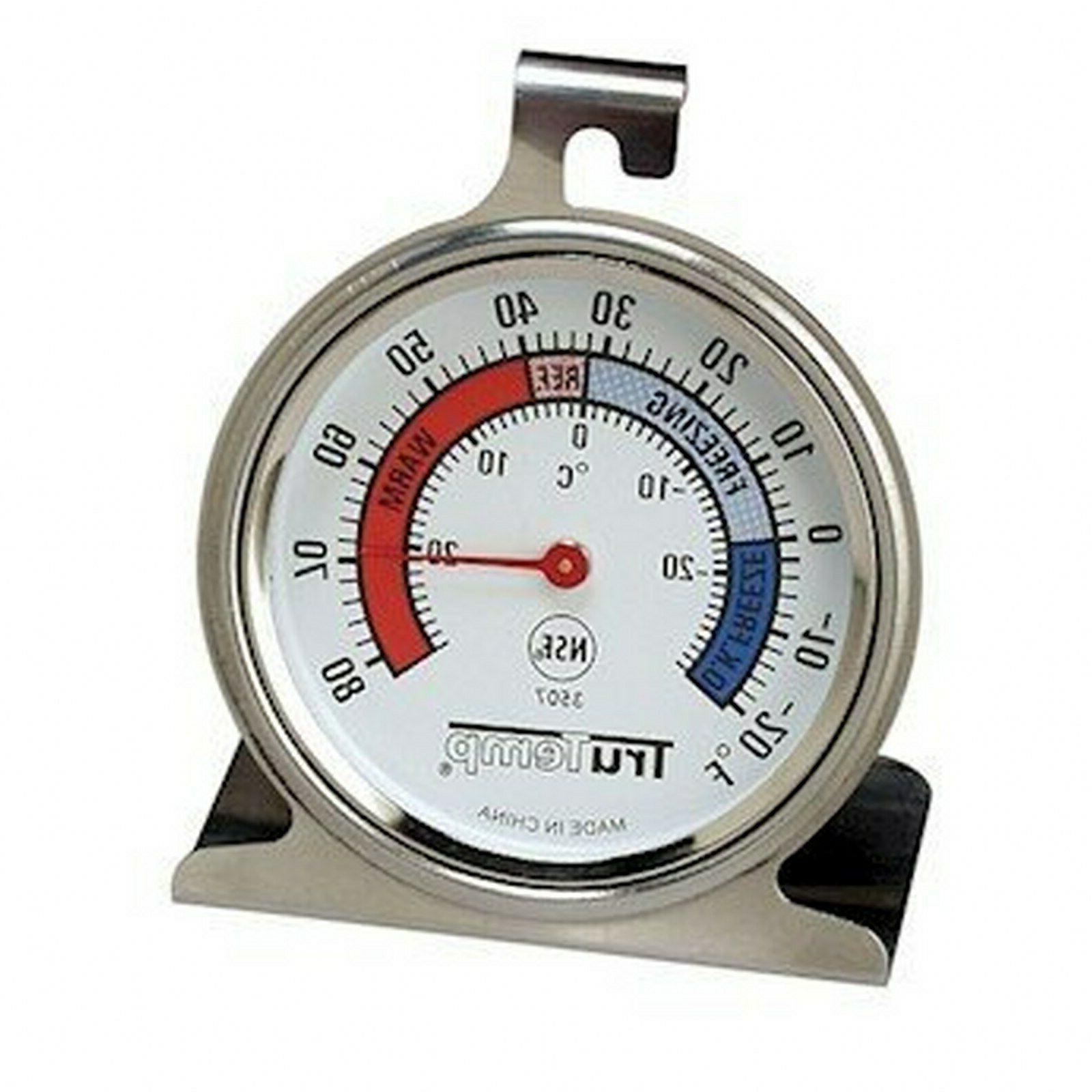 Taylor TruTemp Freezer Refrigerator Analog Dial Thermometer