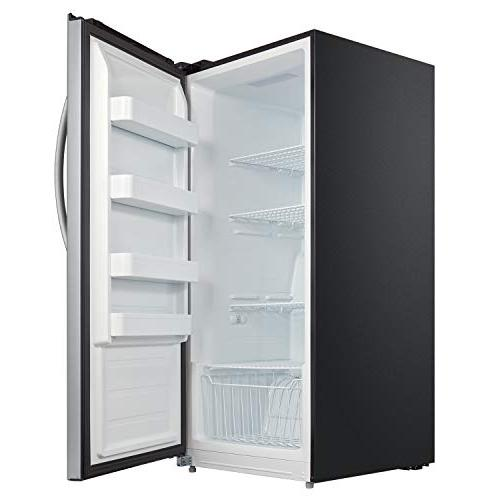 Whynter UDF-139SS cu.ft. Energy Digital Upright Convertible Steel Freezer/Refrigerator, One Size