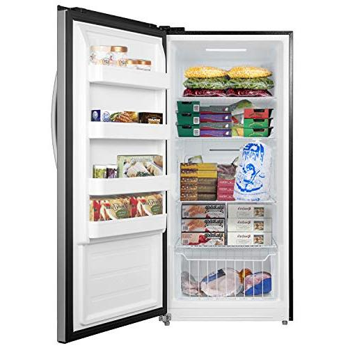 Whynter 13.8 Energy Star Convertible Deep Steel Freezer/Refrigerator, Size