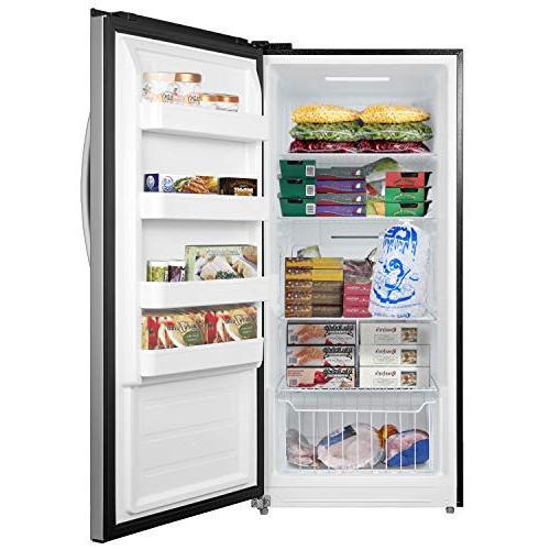 Whynter 13.8 Energy Star Convertible Deep Steel Freezer/Refrigerator, Size
