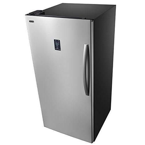 Whynter UDF-139SS Energy Star Convertible Steel Freezer/Refrigerator,