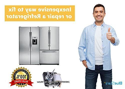 Ultra Durable Refrigerator Evaporator Fan - Frigidaire Kenmore Electrolux - Replaces AP4700070, 5303918549