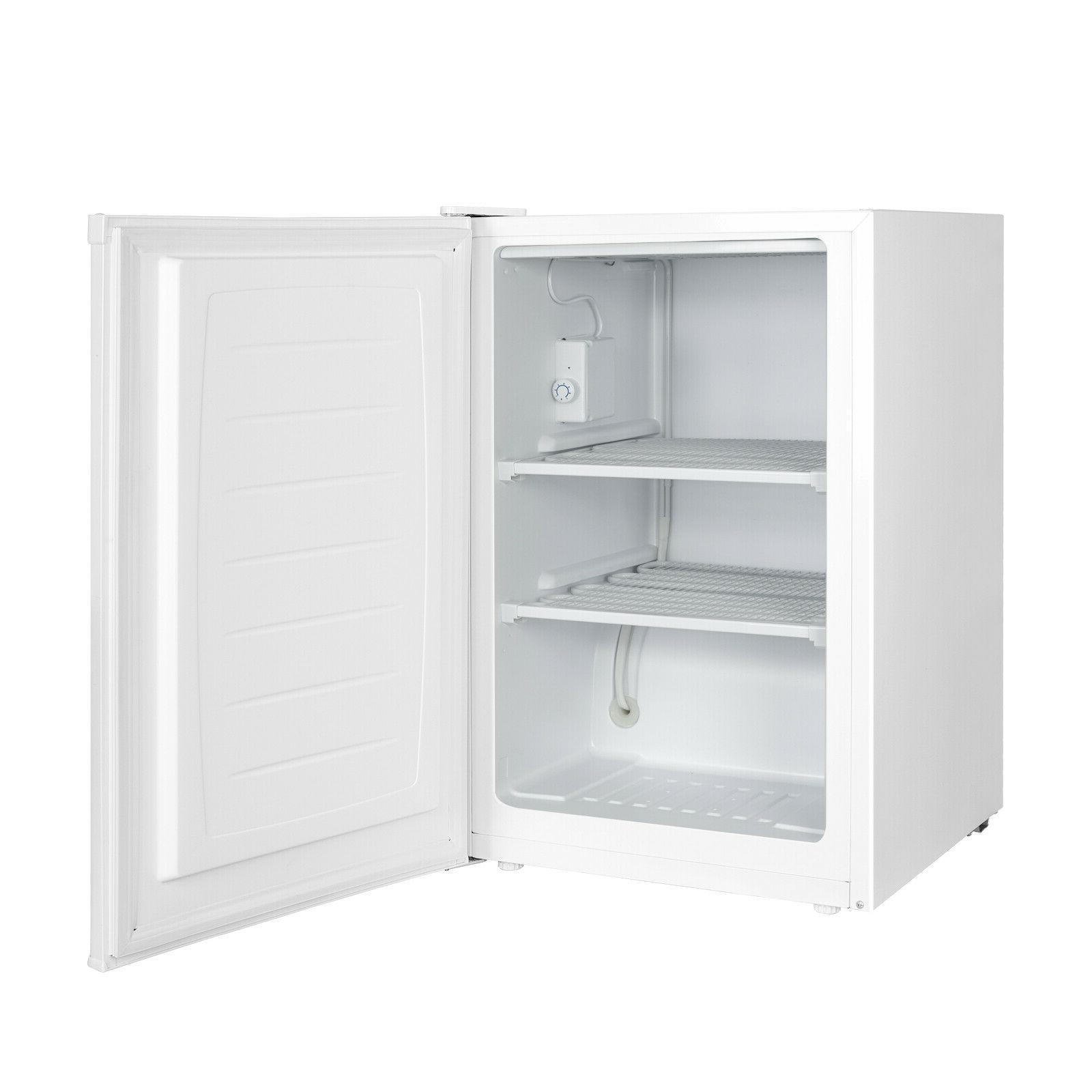 Upright Freezer CU Frozen Food Storage Ice Door