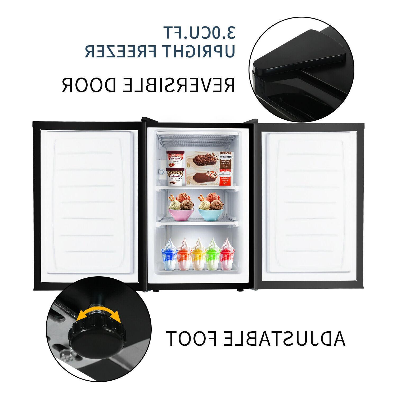 Upright Chest CU Frozen Storage Ice Reversible Door