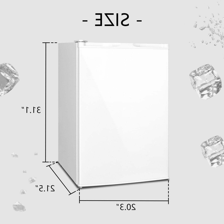 CU FT Frozen Storage Ice Fridge Reversible Door