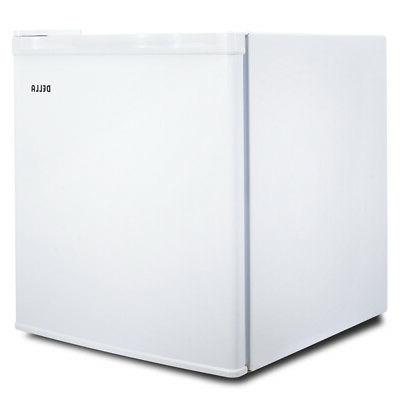 upright compact freezer white energy