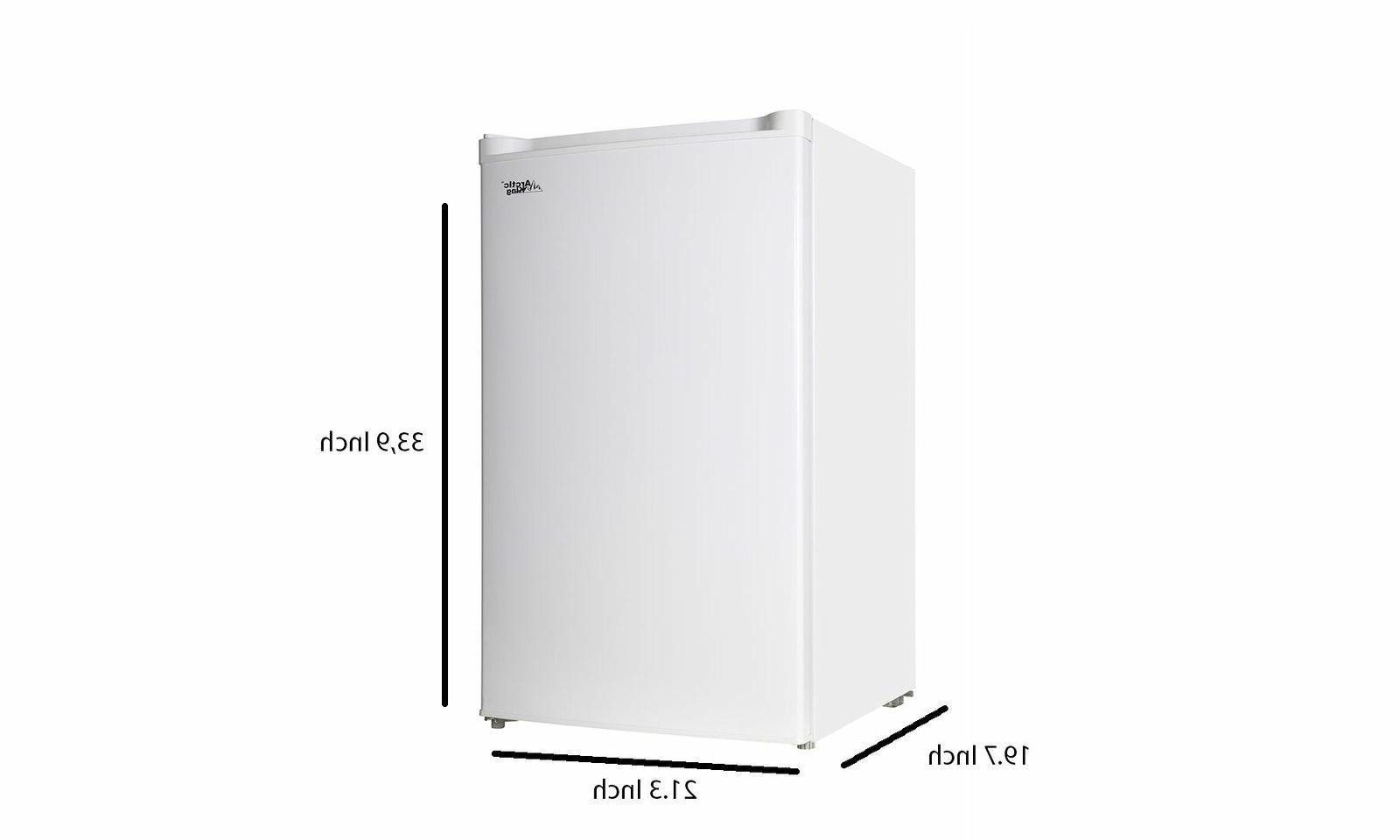 Upright Freezer Small Dorm Mini 3 Cu Ft Shelves Adjustable L