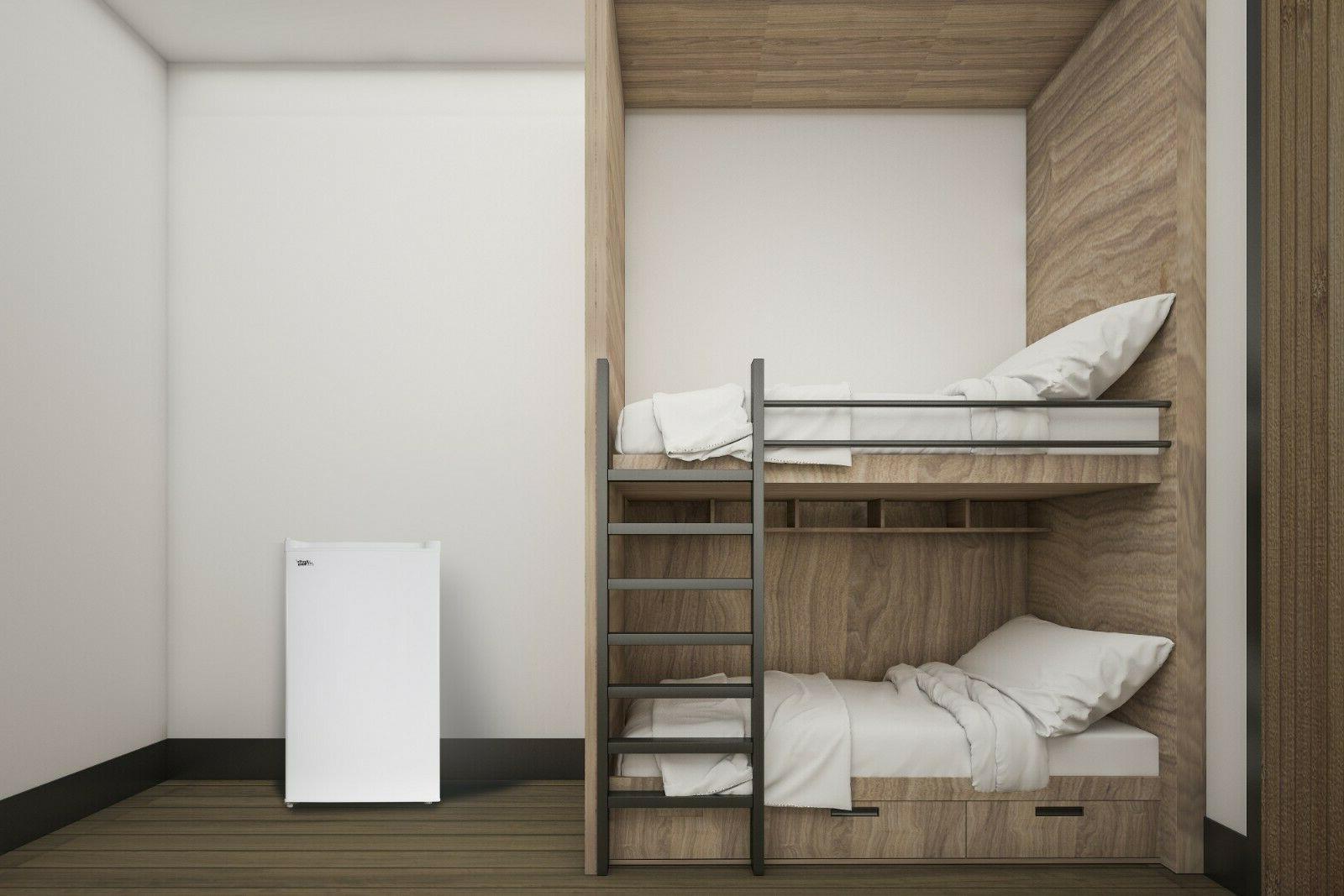 Arctic King Upright Freezer 3 Ft Storage Apartment Garage White