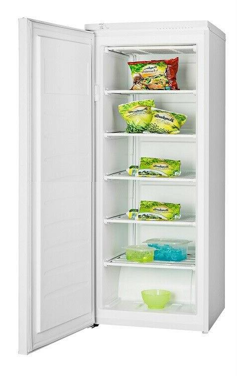 Upright Freezer Deep Freeze 6.5 Cu Ft Quick Freezing Ice Box