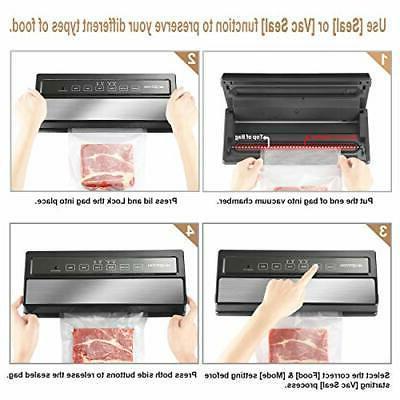 Vacuum Food Sealer Material Freezer Lid