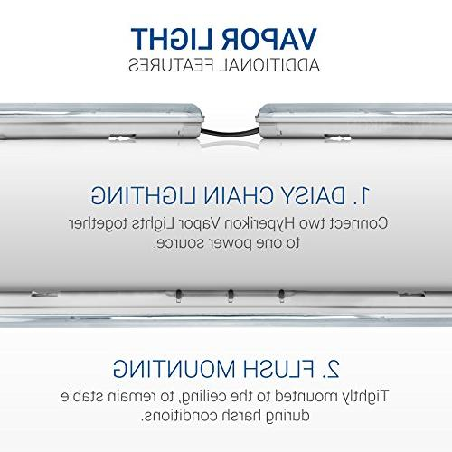 Hyperikon Fixture 70W ,UL Clear Waterproof, IP65, 120-277v, Wash, Warehouse, Freezer