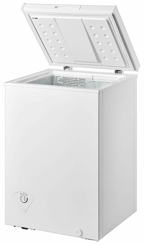 Midea WHS Steel Single Freezer White