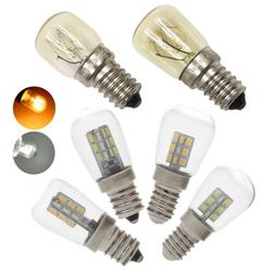 LED Oven Light Freezer Fridge Bulb 3W 4W 15W 25W E12 E14 Hig