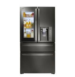 LG LMXC23796D 23 cu. ft. Black Stainless InstaView 4-Door Fr