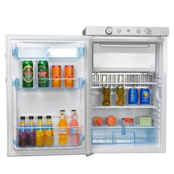 110V 12V 3.4 cu ft LP Gas Refrigerator Propane Mini Cooler A