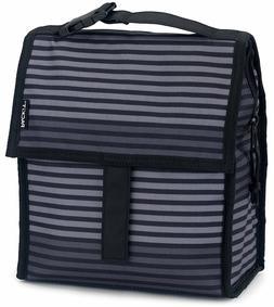 Gray Lunch Bag W/Strap