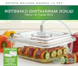 FoodSaver Marinator, 2.25qt