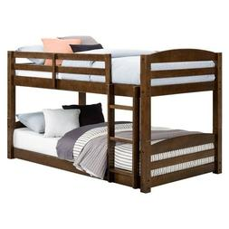 Metal Twin Over Full Bunk Beds Ladder Kids Teens Adult Dorm